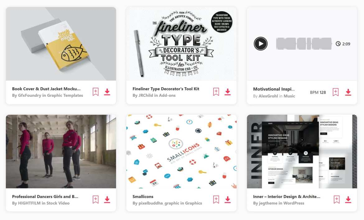 Free Files of the Month for Envato Elements