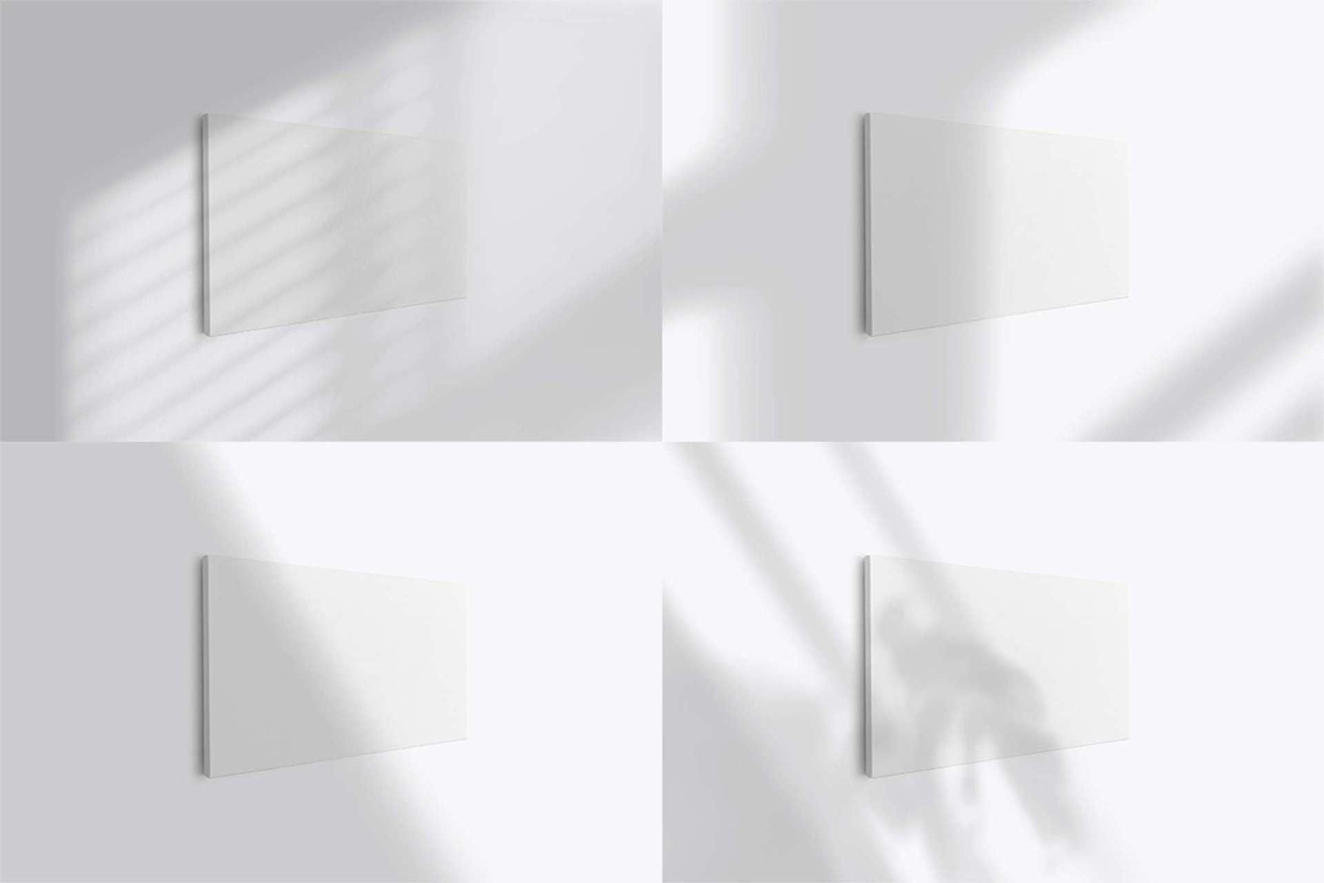 Thin Landscape Canvas Ratio 2x1 Mockup