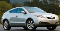 2010 Acura ZDX Owners MAnual
