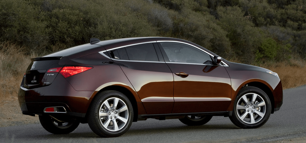 2011 Acura ZDX Owners Manual