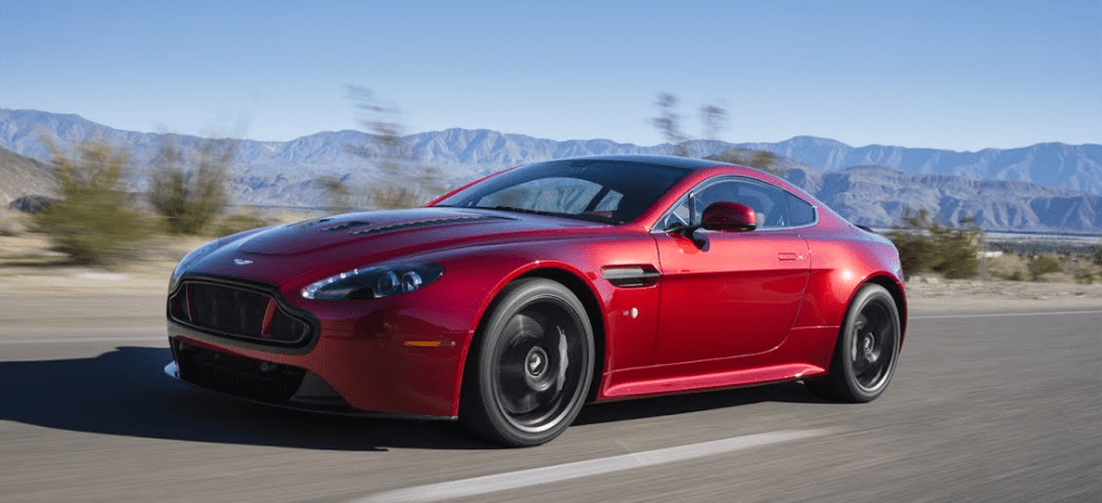 2016 Aston Martin V12 Vantage S Owners Manual