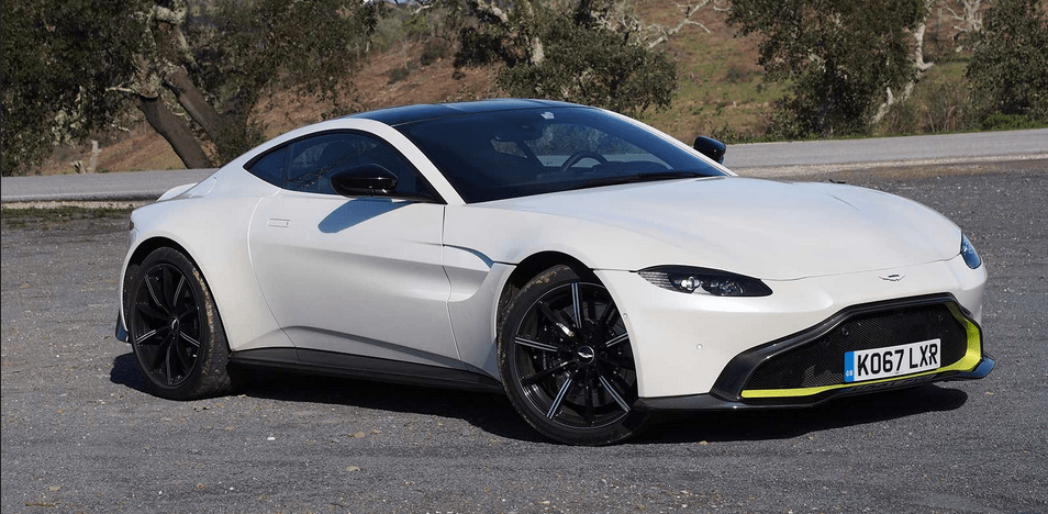 2019 Aston Martin Vantage Owners Manual