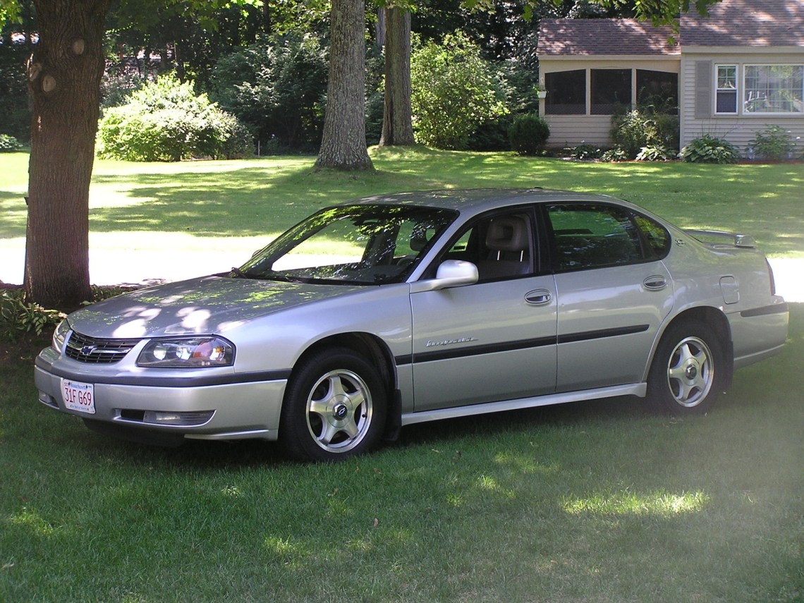 2002 Chevrolet Impala Owners Manual