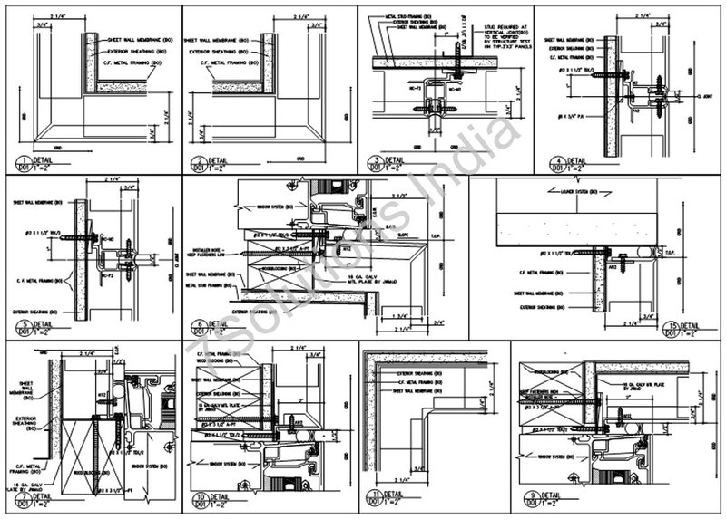 Shop drawings services, steel shop drawings for building