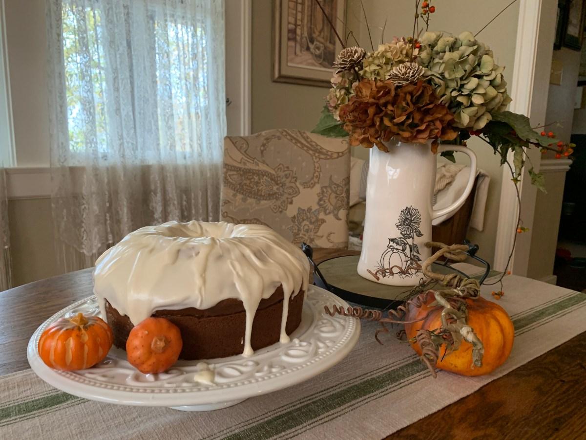 Photo of pumpkin bundt cake