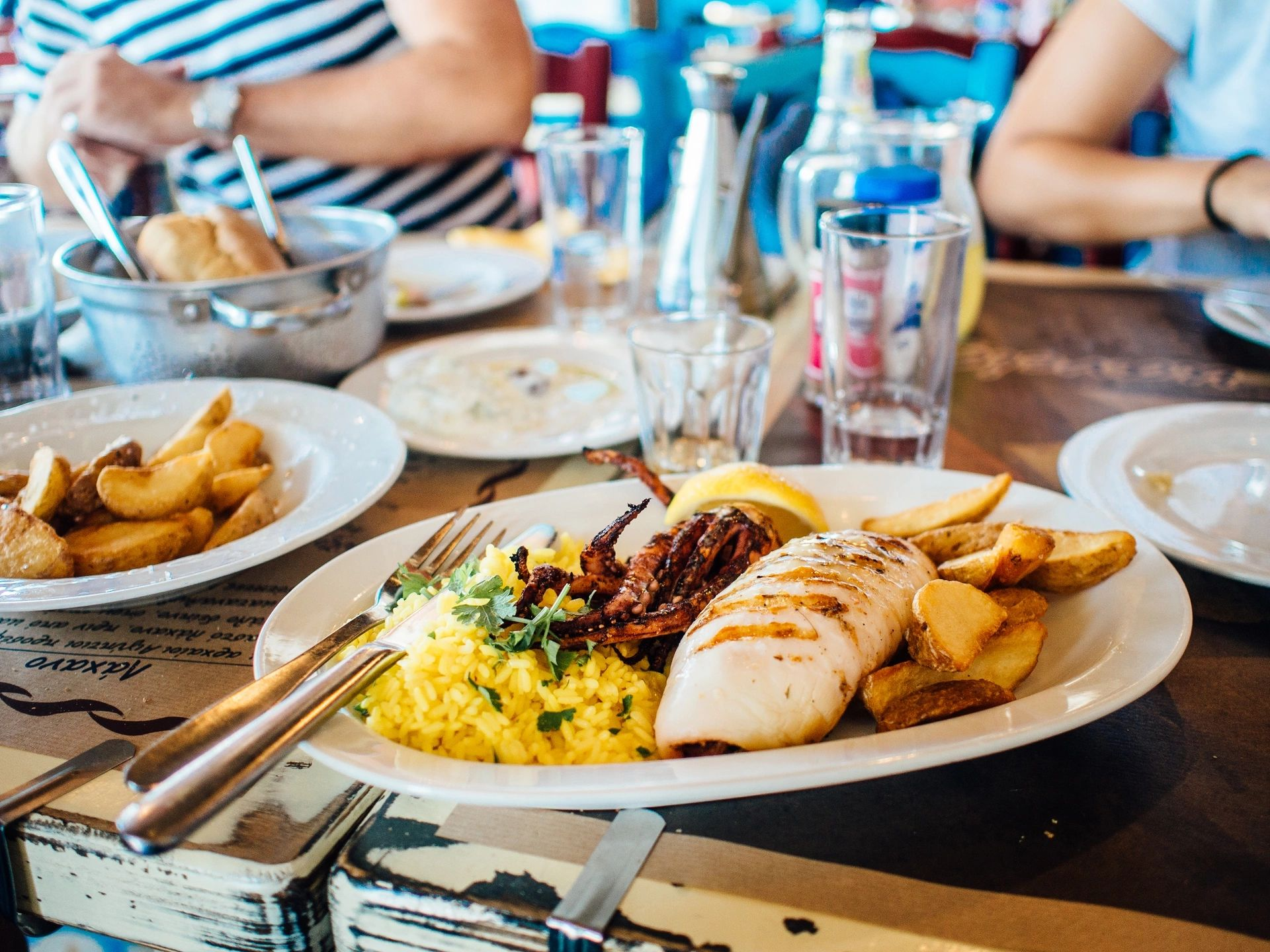 How to Act During a Business Meal recommendations