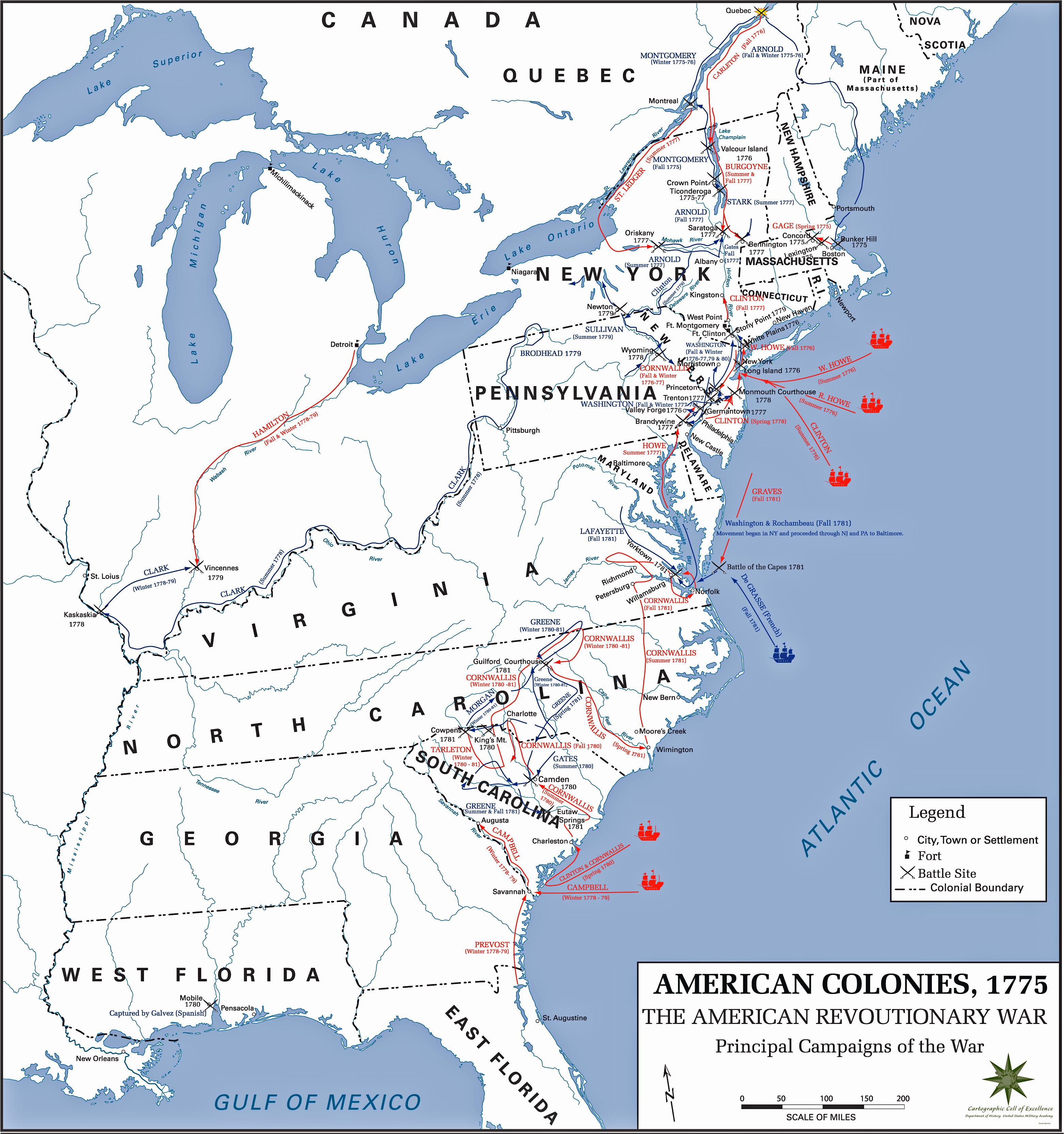 La Guerre D Independance Des Etats Unis