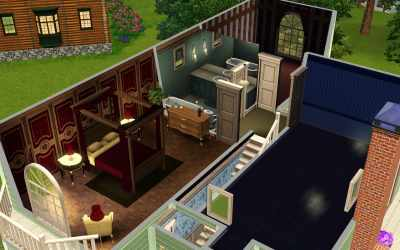 The Sims 3: Room Build Ideas and Examples
