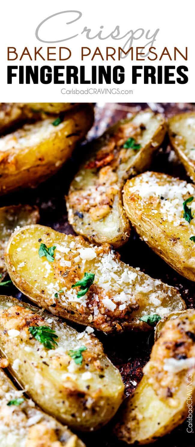 How To Fracture Your Wrist With A Potato : fracture, wrist, potato, Baked, Parmesan, Fingerling, Fries, (VIdeo!)