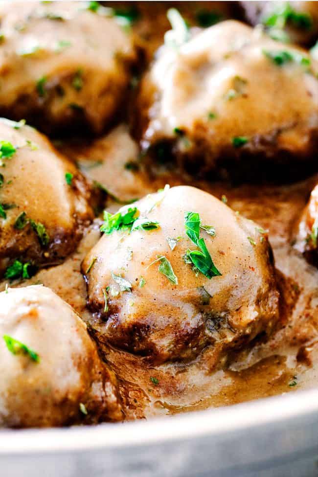 BEST Swedish Meatballs (CRAZY TENDER with freezer