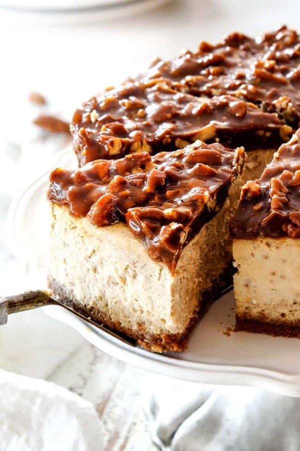 BEST Pecan Pie Cheesecake (step by step photos)