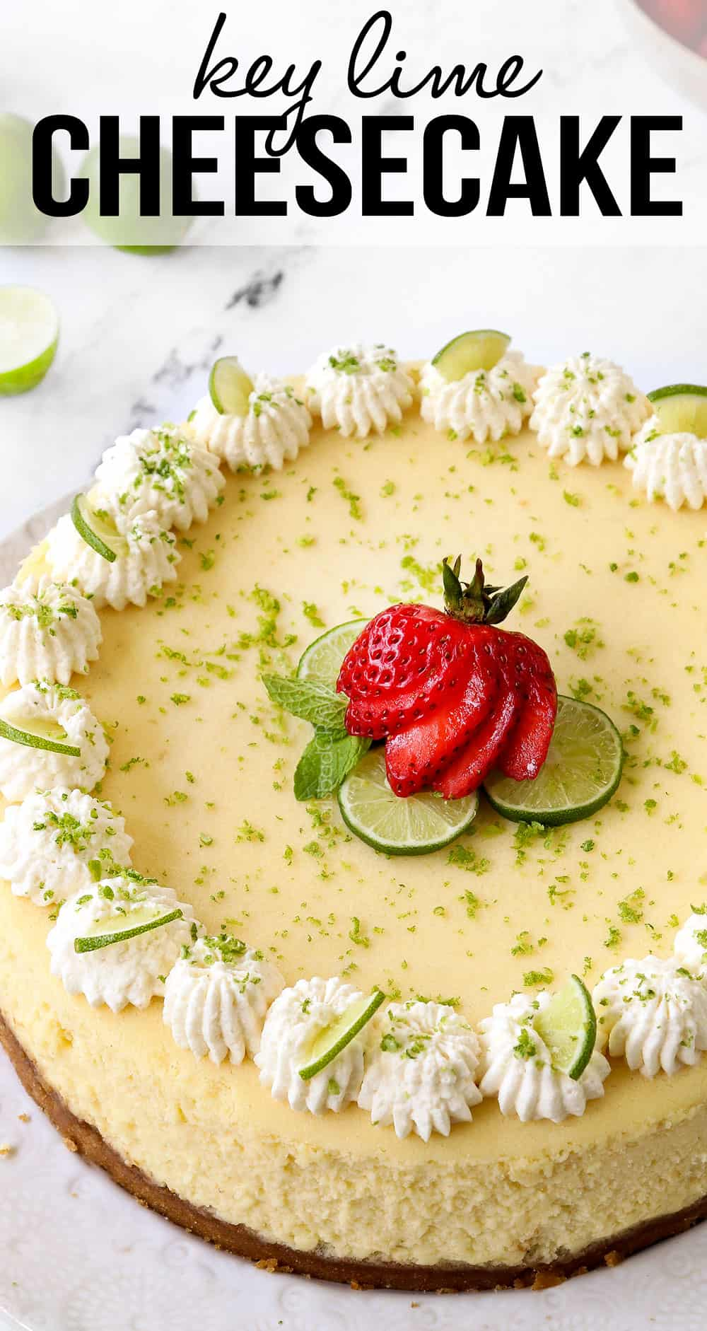 Easy Key Lime Cheesecake