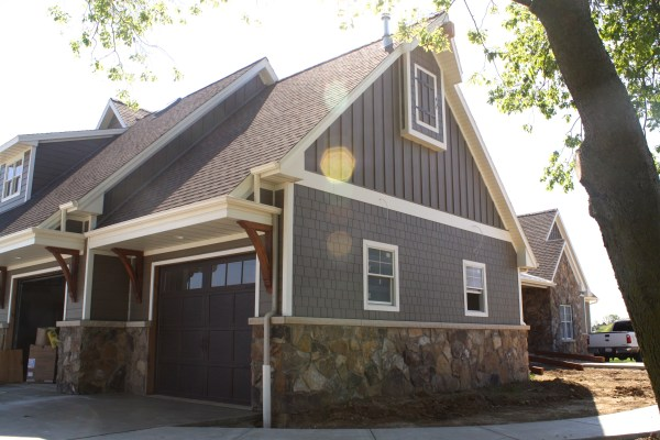 Hardie Board and Batten Siding Houses