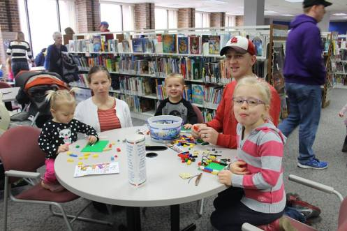Kids having fun at Normal Public Library