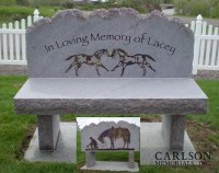 Memorial Benches in Colorado