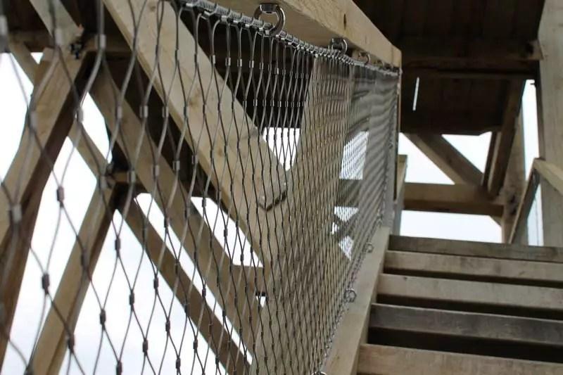 Valbeveiliging balustrades en trappen toren zaanse schans for Trap eisen