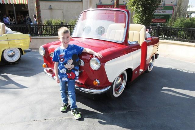 Carltonaut's Travel Tips Disneyland Affordable Rental Car