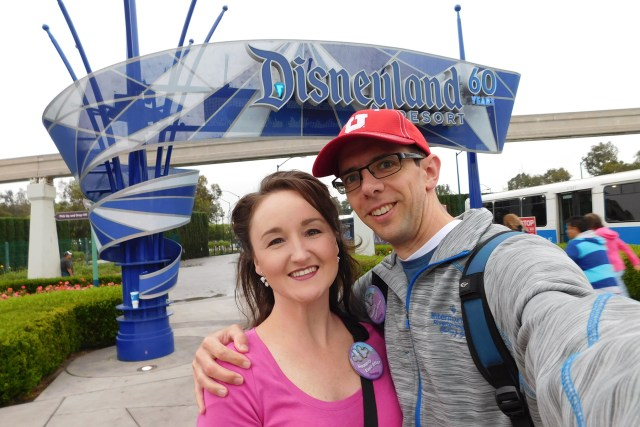 Carltonaut's Travel Tips Disneyland Affordable budget Resort Sign Honeymoon