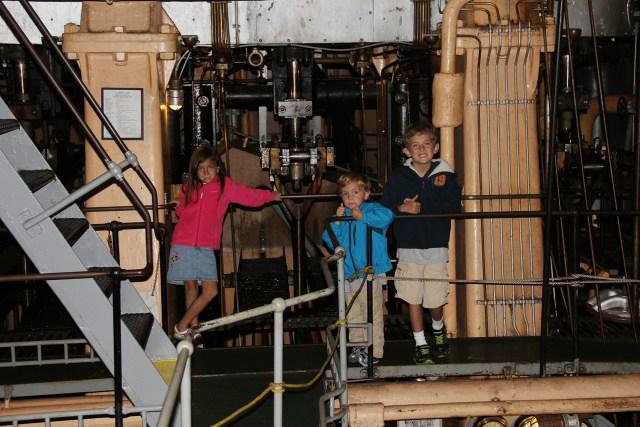 Engine Room on the SS Jeremiah O'Brien Liberty Ship in San Francisco Carltonaut's Travel Tips