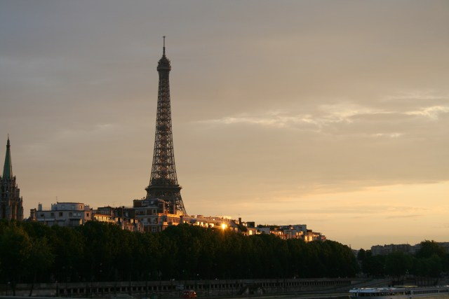 Eiffel Tower Paris France at Sunset Carltonaut's Travel Tips