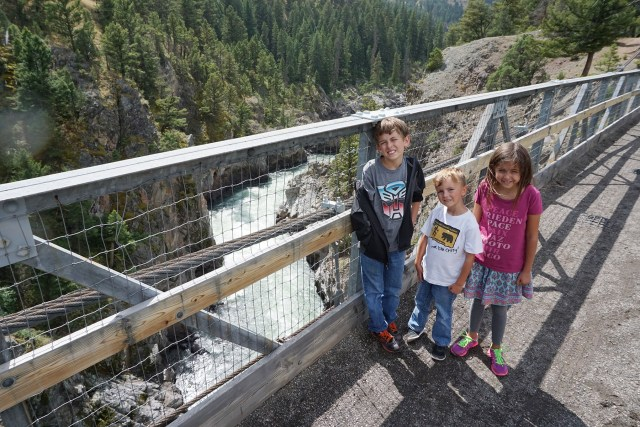 Suspension Bridge on the way to Hellroaring Creek in Yellowstone National Park Carltonaut's Travel Tips
