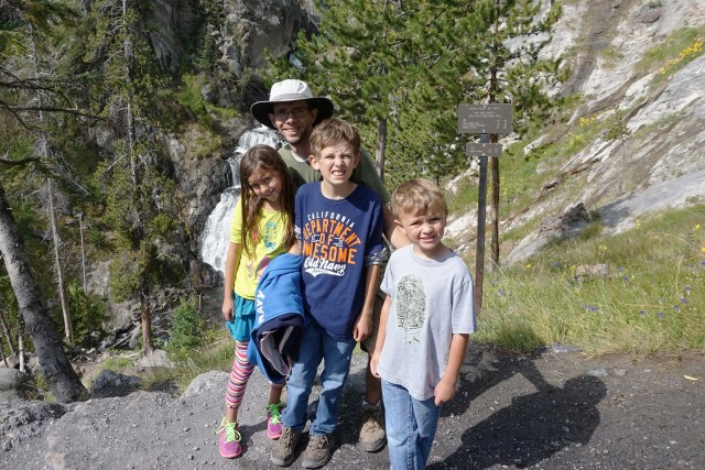 Mystic Falls Hike in Yellowstone National Park