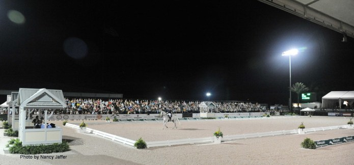 The Adequan Global Dressage Festival grounds. (Photo by Nancy Jaffer)