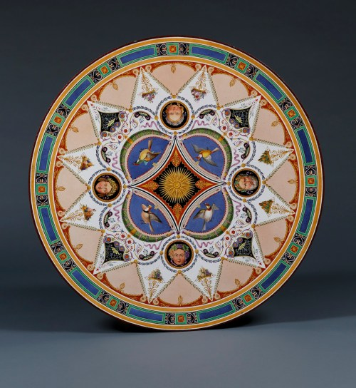 11103 La Table De Quatre Saisons A Polychrome Table Top En