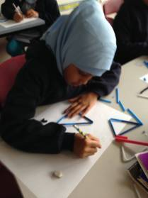 Working on a numeracy task