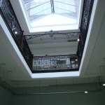 The interior - Burslem School of Art