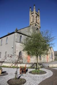 church and garden
