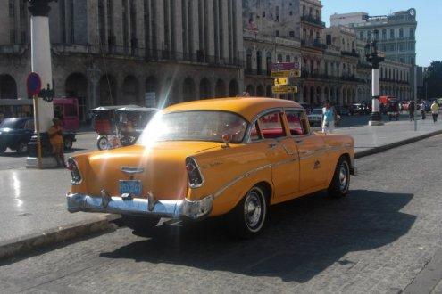 Cuban Cadillac in Havana