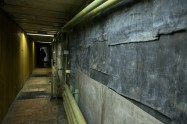 The original deaerator corridor on +10m outside the Unit 4 control room
