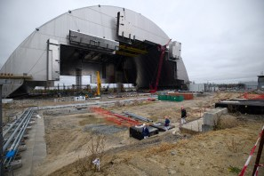 The New Safe Confinement Arch at Chernobyl