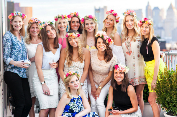 Party Goals: DIY Flower Crown Party 1