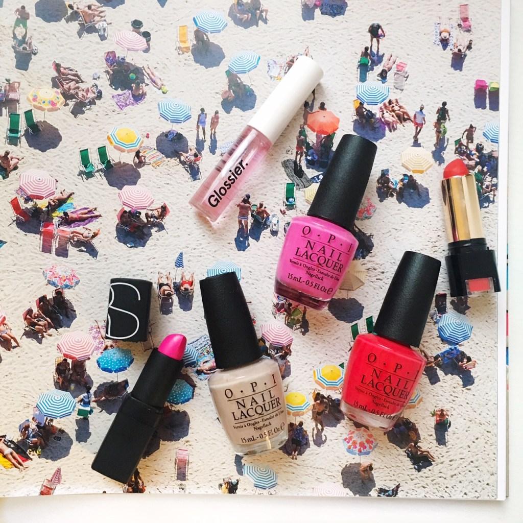 Summer Lip and Nail Color Combos