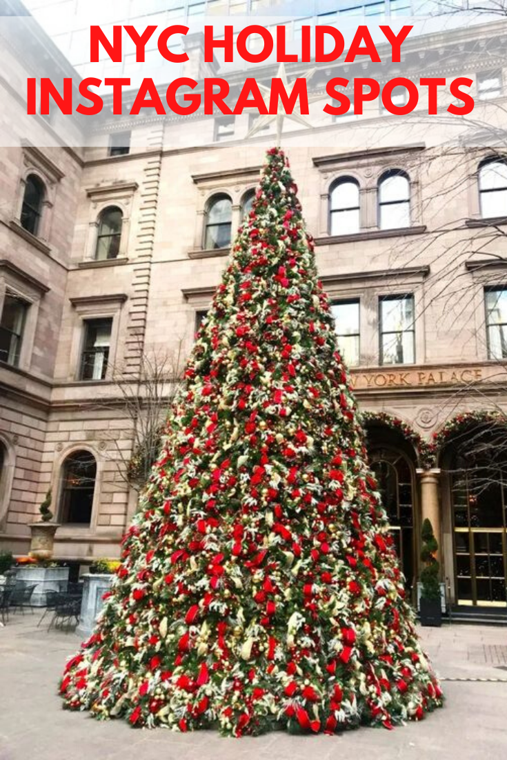 Instagrams From Christmas In Nyc 2020 My Favorite NYC Holiday Instagram Spots | Carly A. Hill