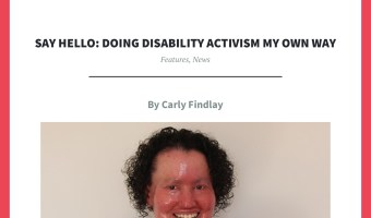 The struggle as a disability activist while writing my memoir