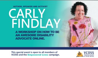 How to be a good disability advocate online