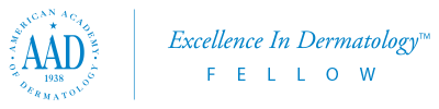AAD Excellence in Dermatology Fellow