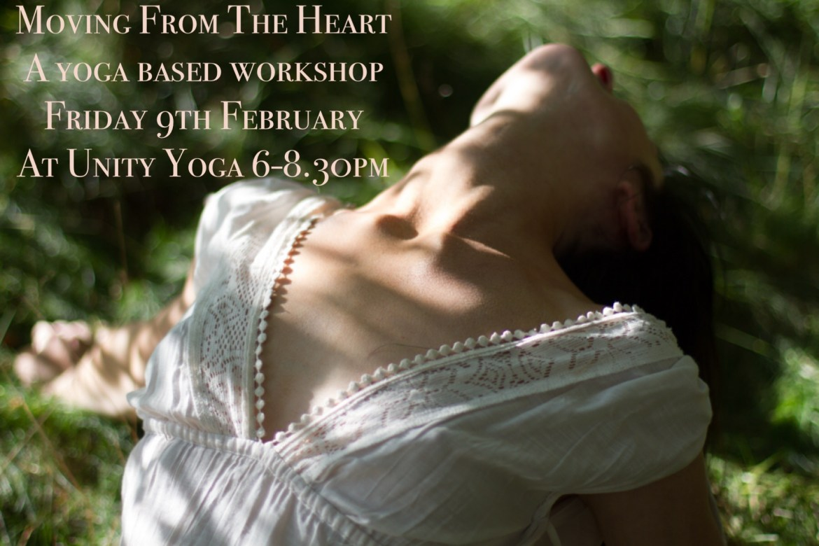 Moving From The Heart – a yoga based workshop