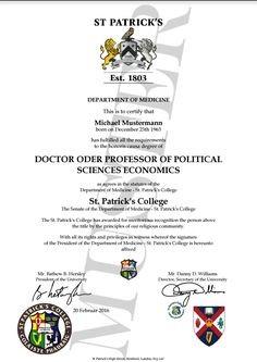 Fake Phd Degree Ukran Agdiffusion Com Certificate Template