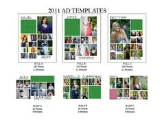 How To Buy A Senior Yearbook Ad Templates Free Carlynstudio Us
