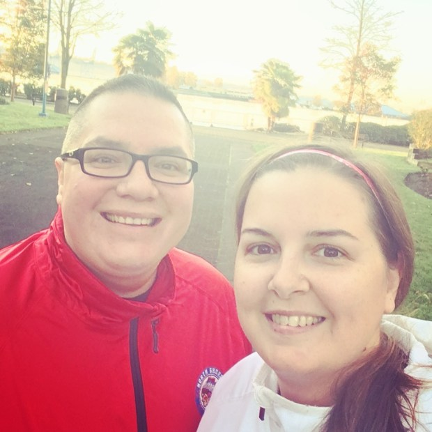 We kicked off Kevin's birthday celebrations with a run. What better way to start a new year?