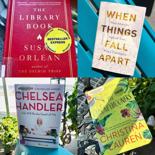 What I read: July 2019