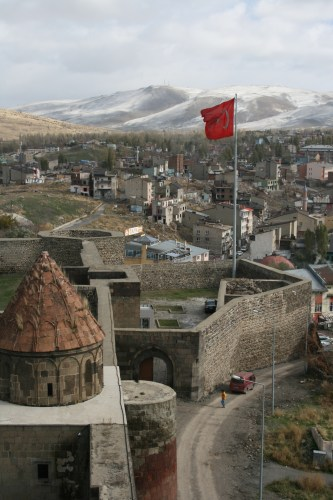 Kale, Erzurum's citadel offers great views