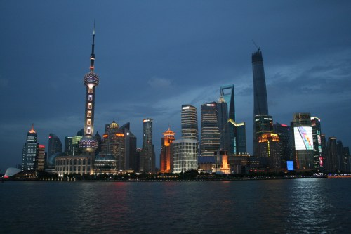 Dazzling Lights of Shanghai