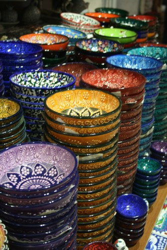 Traditional Turkish bowls