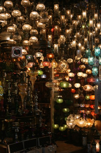 My favourite - Turkish lights!