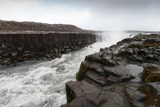 Selfoss is in a pretty dramatic setting